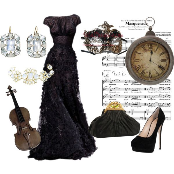 """""""Midnight Masquerade Ball"""" by wiltshirestyle on Polyvore"""