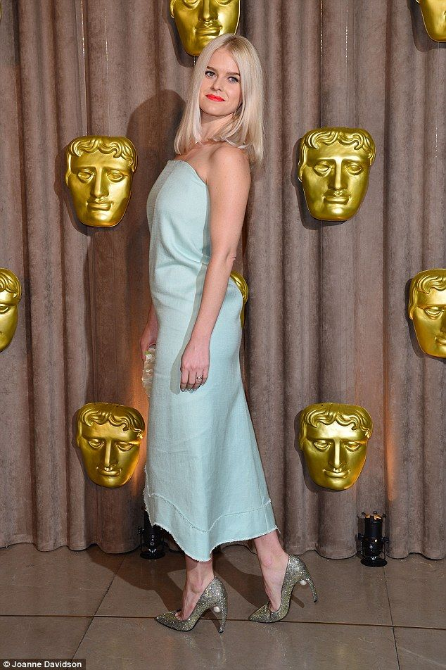 Glam: Alice Eve surpassed herself when she attended the BAFTA Breakthrough Brits event at ...
