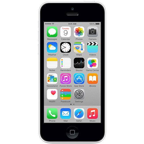 Straight Talk Apple iPhone 5C 8GB Prepaid Smartphone