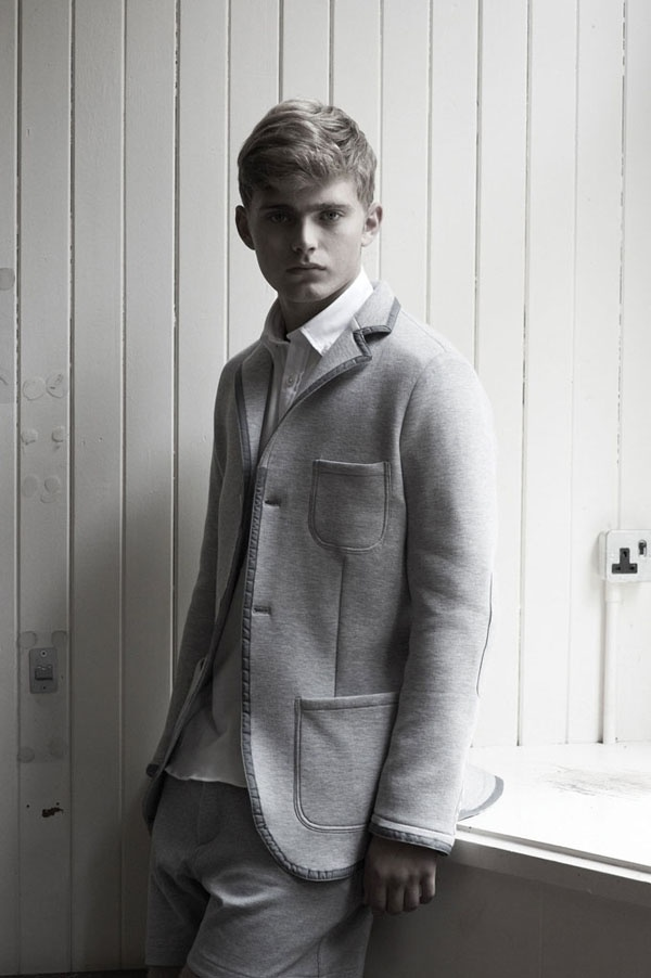 One Nine Zero Six Spring/Summer 2012 collection--- nice heather grey blazer