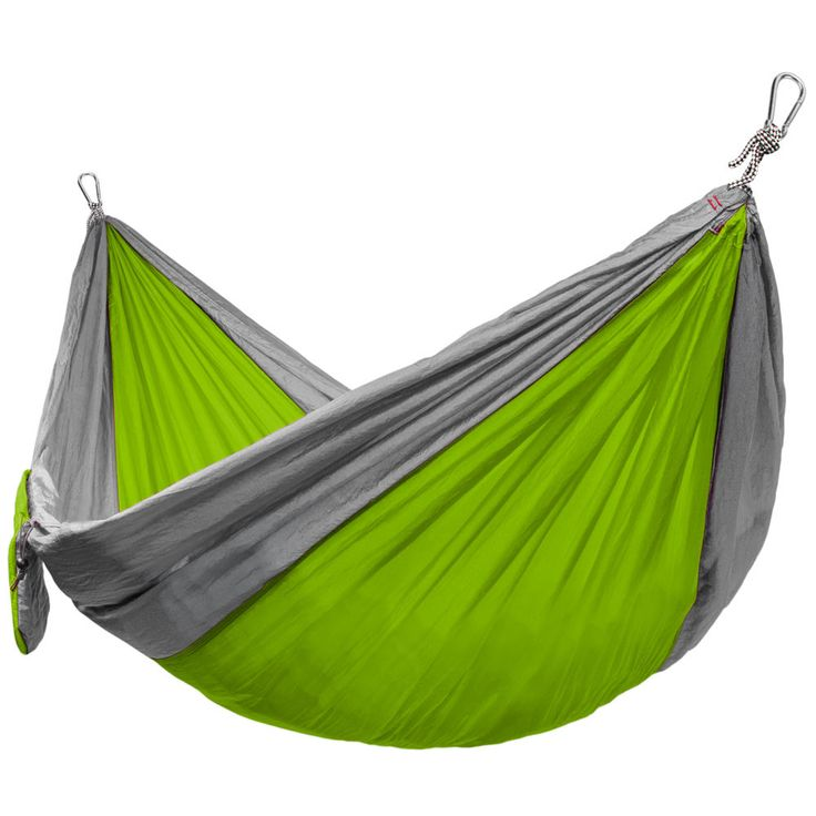 Grizzly Peak Camping Hammock Lightweight Parachute Nylon 400lb Limit Outdoor Fun | eBay