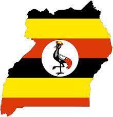 Best Uganda Maps Images On Pinterest Cards Maps And Html - Uganda map hd