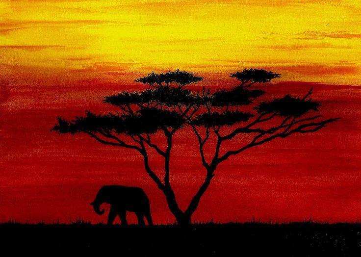 15 Best Sunset Silhouette Images On Pinterest Sunset