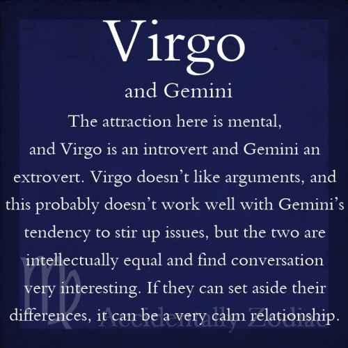 gemini virgo relationship astrology