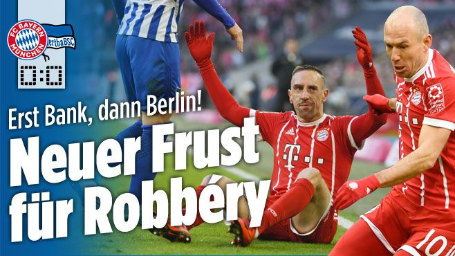 Bayern München gegen Hertha BSC - Bild.de