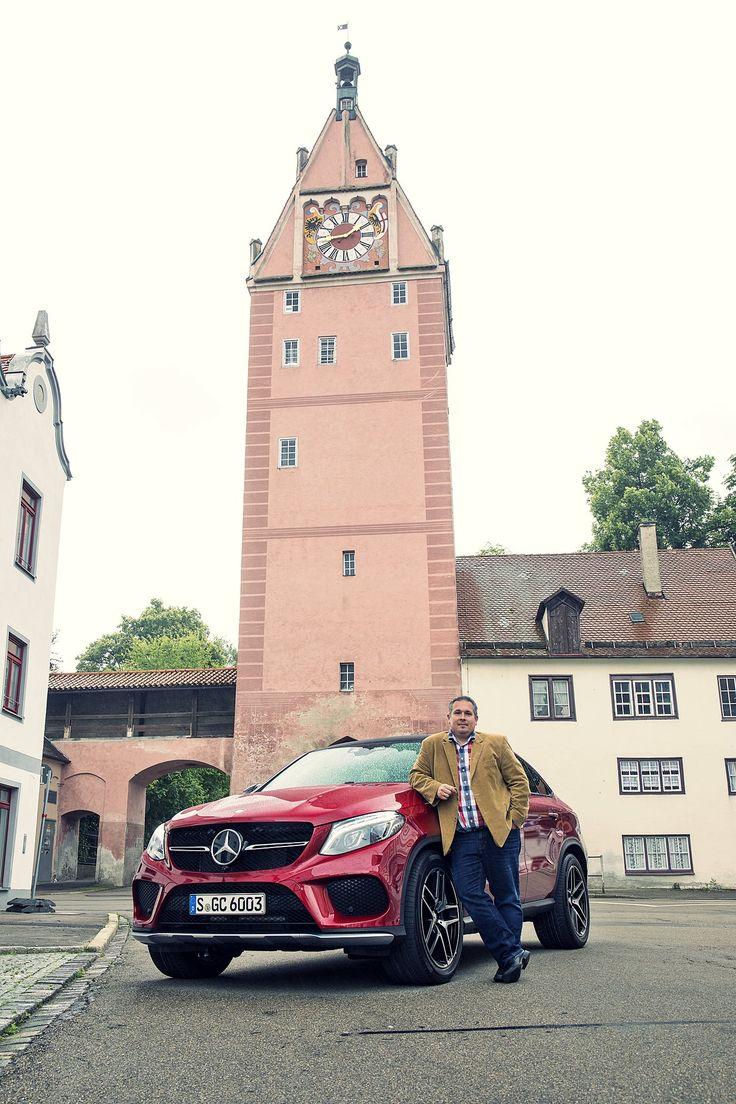 Das Mercedes-Benz GLE 350d Coupé im Test bei Mein Auto Blog. [GLE 350 d - Fuel consumption combined: 7.2-6.9 l/100km | combined CO₂ emissions: 189-180 g/km]