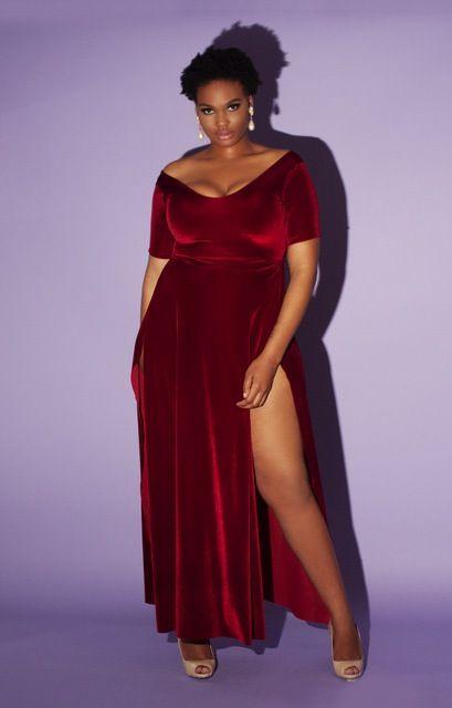 Plus Size Holiday Dress - Courtney Noelle