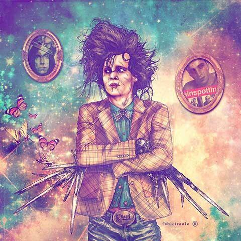 Edward Scissor Hands, Johnny Depp
