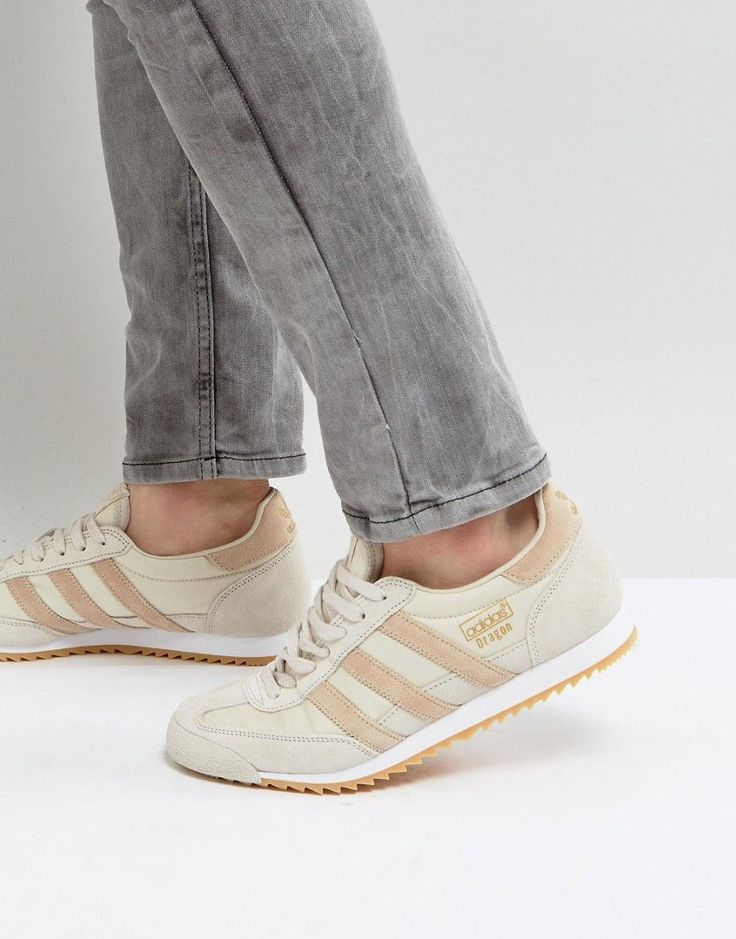 ADIDAS ORIGINALS DRAGON OG SNEAKERS IN BROWN - BROWN. #adidasoriginals #shoes #