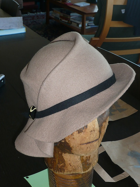 Draped Felt Hat by Devereaux Dane, via Flickr