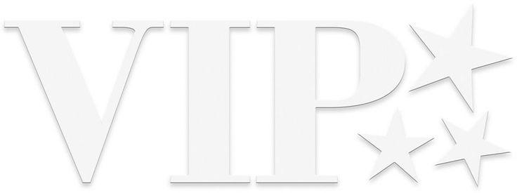 EUROGRAPHICS Dekobuchstaben »VIP«, 60/25 cm Jetzt bestellen unter: https://moebel.ladendirekt.de/dekoration/wandtattoos/wandtattoos/?uid=0fbe71f5-b9b1-56f2-bf94-af78aba88510&utm_source=pinterest&utm_medium=pin&utm_campaign=boards #tattoos #dekoratives #dekoration