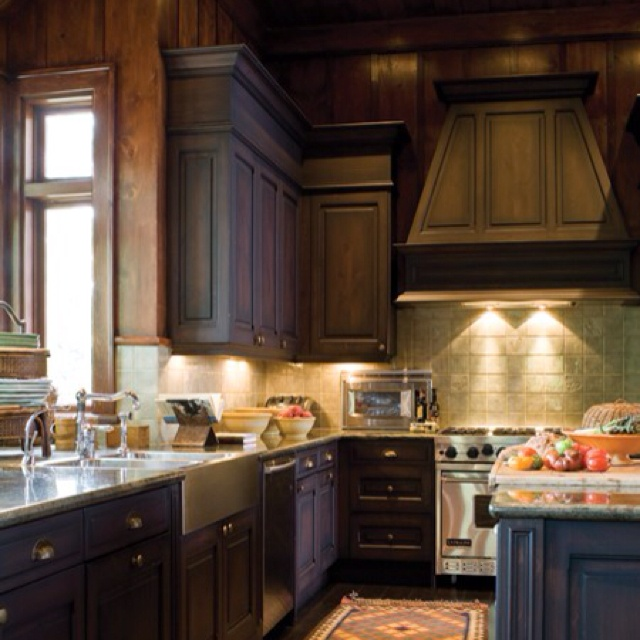 Cottage Kitchen Countertops: Kenny G's Cottage Kitchen-from House & Home Magazine