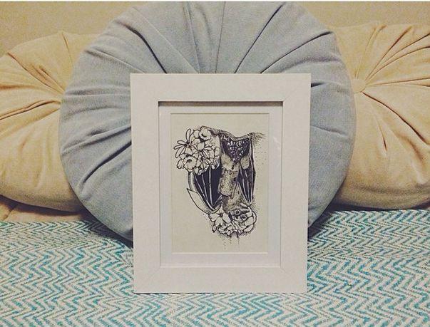 Some of my original hand made drawings. www.ismedium.com  #illustration #art #frame #decor #deco #decoration #fish #colors #universe #handmade #diy #blackwork #black #white #minimal #animal #universe #space #bird #sloth #orangutan #quotes #quote