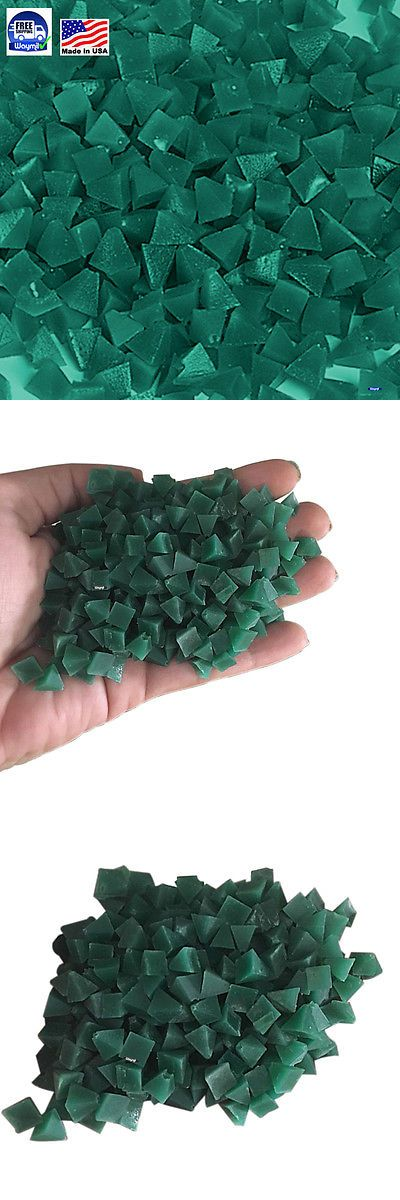Other Jewelry Design and Repair 494: Plastic Pyramid Media Green Medium Cut 5 Lb Vibratory Tumbler Jewelry Polishing -> BUY IT NOW ONLY: $48.88 on eBay!