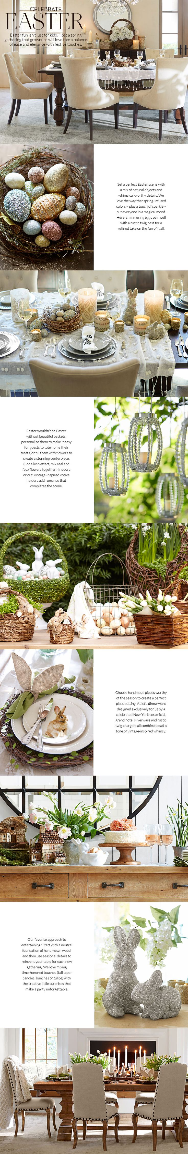 Easter fun isn't just for kids — this year, host a grown-up gathering that everyone will love!