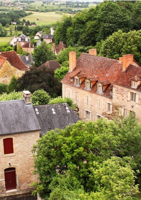 Hautefort, Aquitaine, France