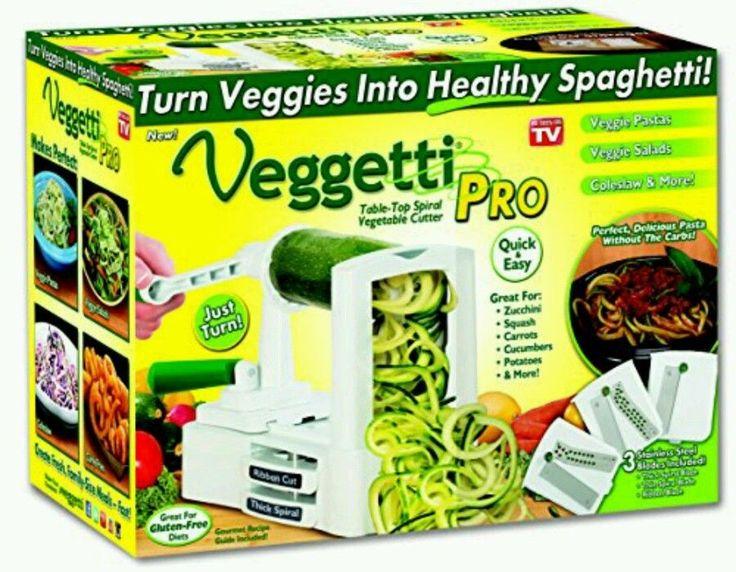 Veggetti Pro Spiral Vegetable Cutter | Home & Garden, Kitchen, Dining & Bar, Kitchen Tools & Gadgets | eBay!