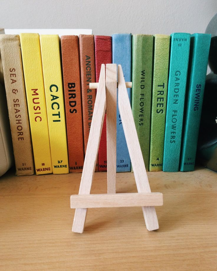 A personal favourite from my Etsy shop https://www.etsy.com/uk/listing/279132216/mini-easel-small-hoop-display-stand