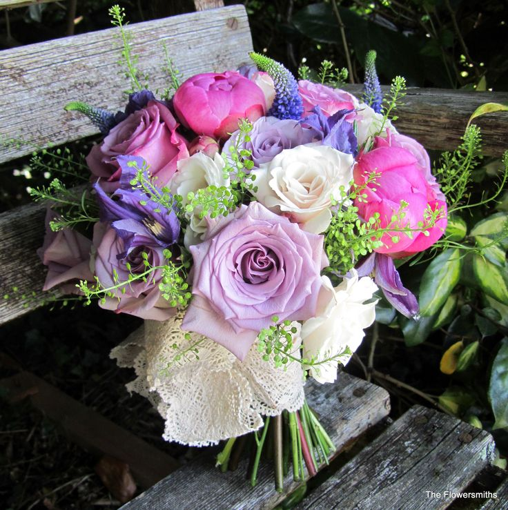 Wedding Flowers Lilac: Pink And Lilac Wedding Flowers