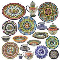Unique Mexican gifts homewares and artworks clothing chocolate jewellery and more - A Little Piece of Mexico  sc 1 st  Pinterest & 10 best Mexican dinnerware images on Pinterest | Dinnerware Dish ...