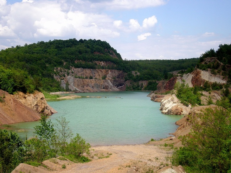 Mine-lake at Rudabánya #Hungary