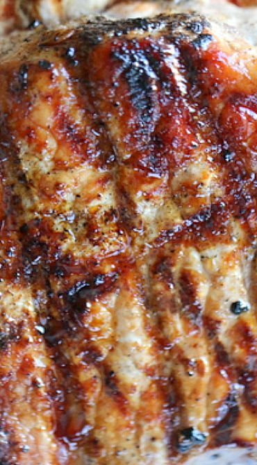 Garlic and Honey Glazed Pork Chops