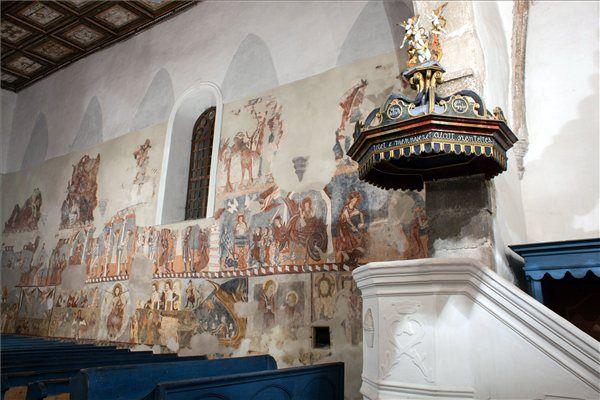Bögöz (Mugeni), frescoes from 14th c.