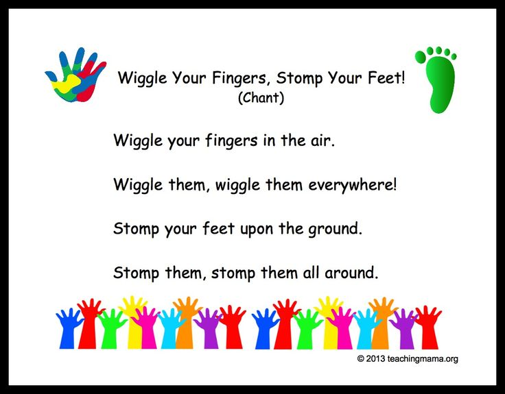 Wiggle Your Fingers, Stomp Your Feet | Preschool Transition Songs