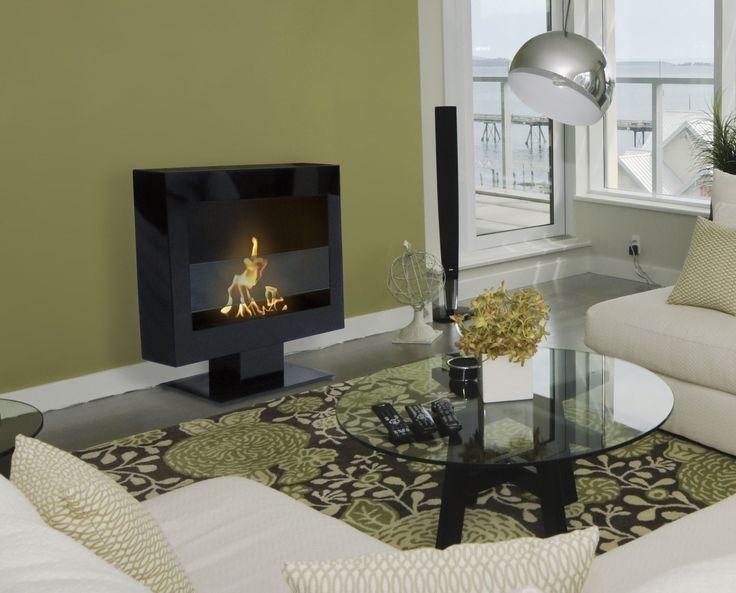 "Anywhere Fireplace Tribeca II Floor Standing Fireplace 28"""
