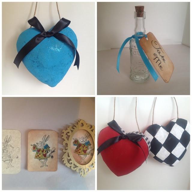 Craft Room Secrets: Alice in Wonderland DIY Christmas Ornaments