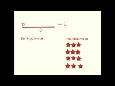 ▶ Division & Multiplikation - Skapat i appen Explain Everything,  YouTube