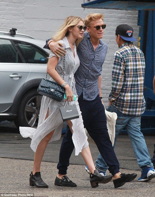 The one: After Gigi starred in Cody's Surfboard music video, the pair dated for a year before splitting in May