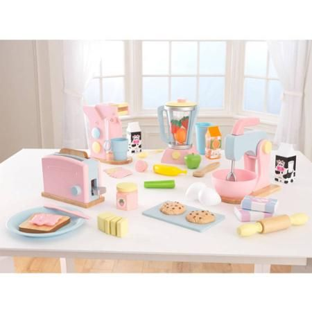 Captivating KidKraft 4 Pack Pastel Play Kitchen Accessories   Thereu0027s Nothing Kids  Canu0027t Cook Up When They Have The KidKraft 4 Pack Pastel Play Kitchen  Accessories.