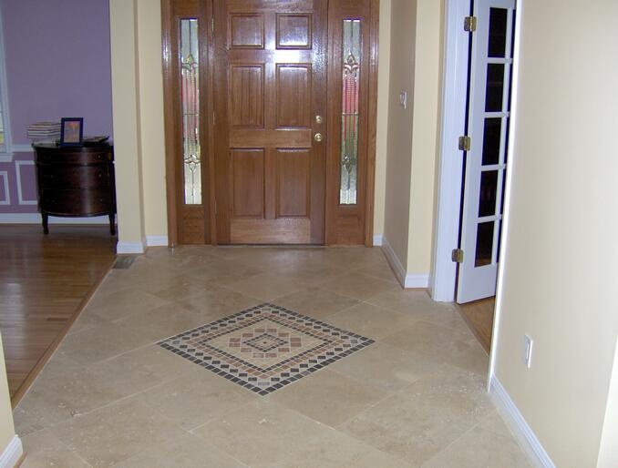 10 best tile foyer images on pinterest foyers mud rooms for Entrance flooring ideas