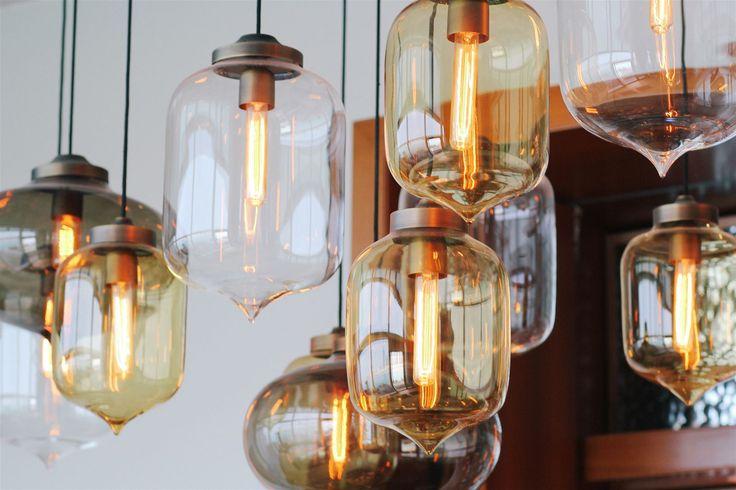 Rosewood Hotel Abu Dhabi, United Arab Emirates. #bar #lighting #design #lantern #crystal #glass #ambiance #hospitality