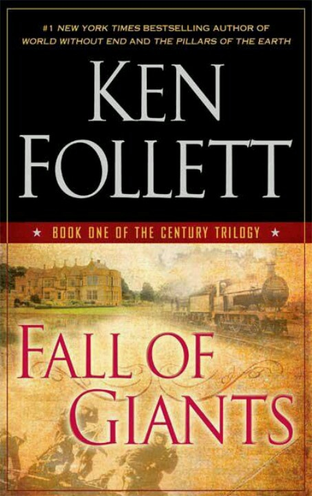 """Fall of Giants"" is the first book of a  20th century trilogy by Ken Follet. Such a great read!"