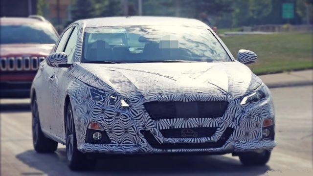 2020 Nissan Altima Interior Spied Car Announcements 2019 2020 Nissan Altima Nissan Car