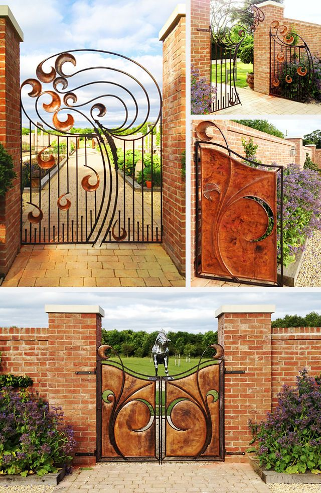 Chewton Glen Gates