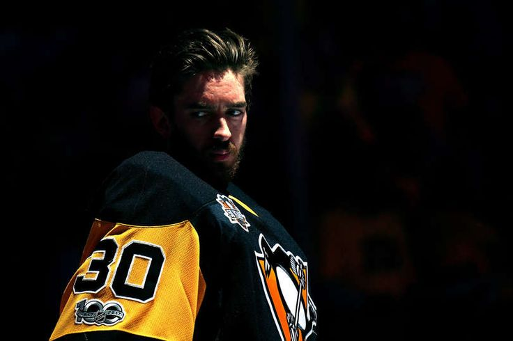 PITTSBURGH, PA - MAY 25: Matt Murray #30 of the Pittsburgh Penguins looks on prior to Game Seven of the Eastern Conference Final against the Ottawa Senators during the 2017 NHL Stanley Cup Playoffs at PPG PAINTS Arena on May 25, 2017 in Pittsburgh, Pennsylvania. (Photo by Jamie Sabau/Getty Images)