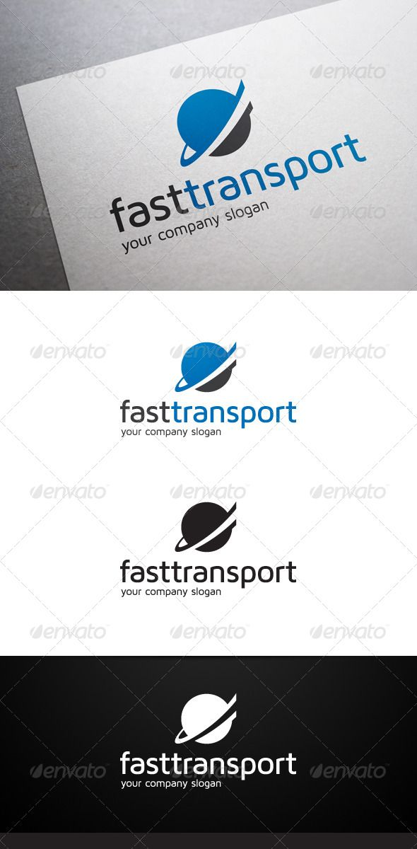 Fast Transport Logo #GraphicRiver Description Fast Transport Logo is a multipurpose logo. This logo that can be used by cargo, logistic and transport companies, etc. What's included? 100% vector AI and EPS files CMYK Fully editable – all colors and text can be modified Layered 3 color variations Font Font used: Maven Pro Don't forget to rate if you like! Created: 14November13 GraphicsFilesIncluded: VectorEPS #AIIllustrator Layered: Yes MinimumAdobeCSVersion: CS Resolution: Resizable Tags…