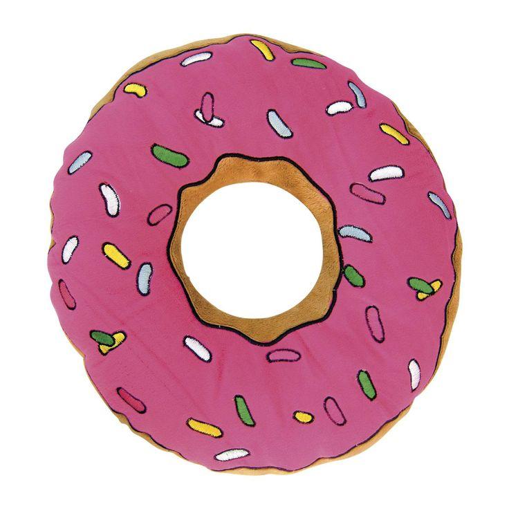 The Simpsons Kuddar »Donut« | Köp i EMP | Mer Fan-merch Filtar och kuddar finns online ✓ Oslagbara priser!