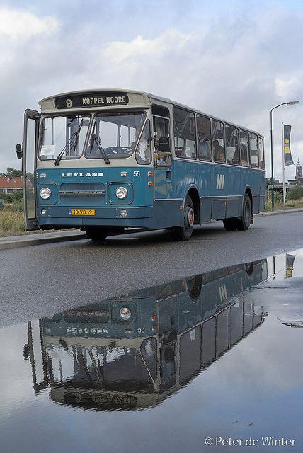 Oude stadbus van firma Nefkens uit Amersfoort. Met mijn vader als 1 van de chauffeurs!