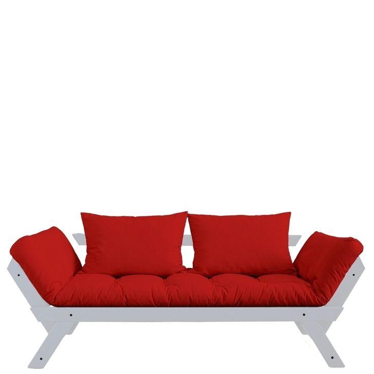 Die besten 25+ Rote sofas Ideen auf Pinterest Roter sofa dekor - farbkonzept wohnzimmer rot