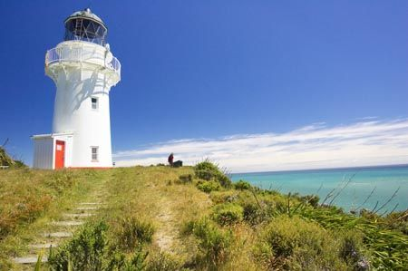 East Cape lighthouse [1900 - Te Araroa, Gisborne, North Island, New Zealand]