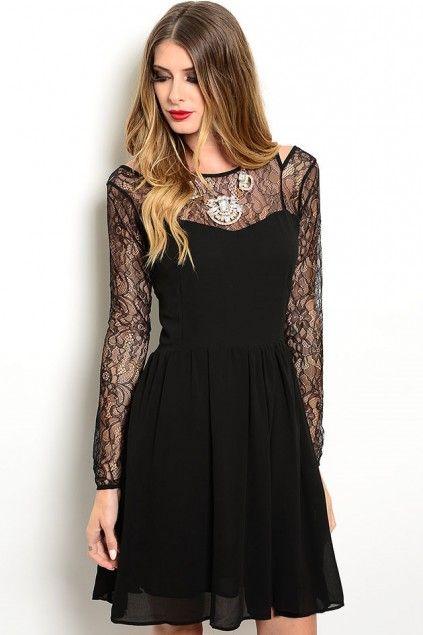 Black dress cocktail 60