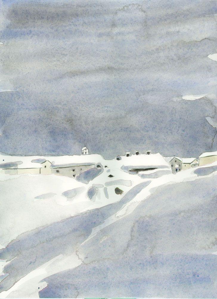 simplon-dorf winter schnee nebel