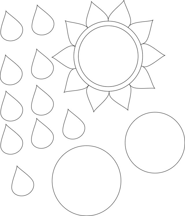 Astounding image within sunflower template printable