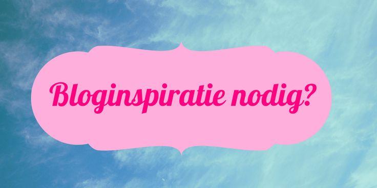 Blog-inspiratie nodig? Geef me 30 minuten... Bloggen, je weet heus wel dat het belangrijk is. Of je nou voor jezelf blogt of voor je klant, de uitdaging blijft hetzelfde: HOE verzin je nou interessante – en vooral relevante – onderwerpen? Ik heb een hele simpele, maar effectieve manier gevonden die mij persoonlijk erg inspireert. Juist op die momenten dat je hoofd …