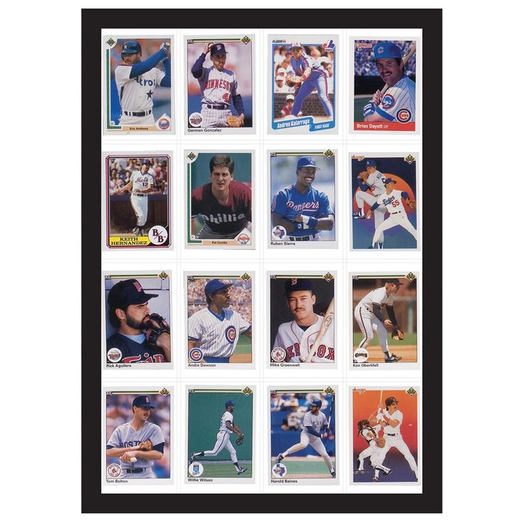 16 Baseball Card Display Case - Room Essentials, Black                                                                                                                                                                                 More