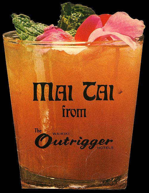 Supposedly invented by Trader Vic for some visiting friends, the Mai Tai was quite the ubiquitous cocktail in the 1950's and 60's. I would go as far as saying it is nearly synonymous wi…